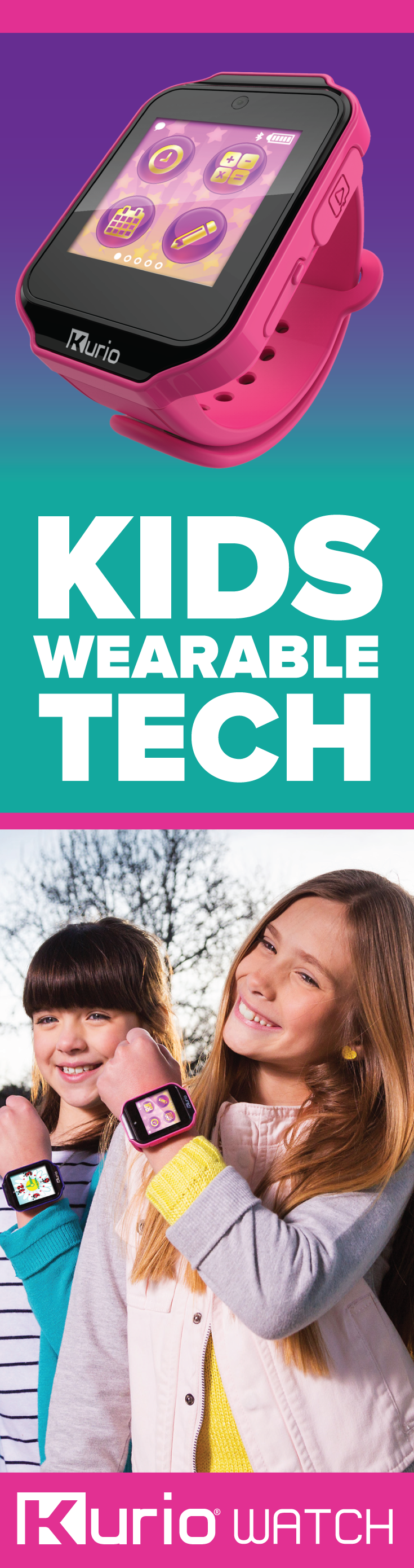 They Kurio Watch is a smartwatch made just for kids, and it just hit ...