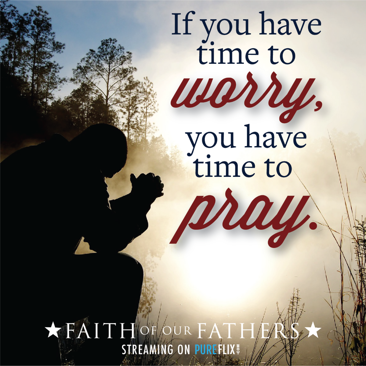To #worry is a waste of time  Just pray  #PowerofPrayer