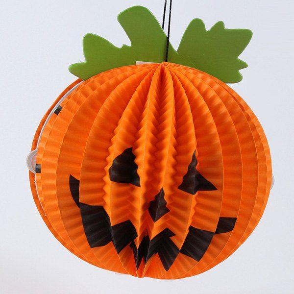 Halloween Party Decoration Supply Pumpkin Shape Hanging Lantern - halloween party decorations cheap