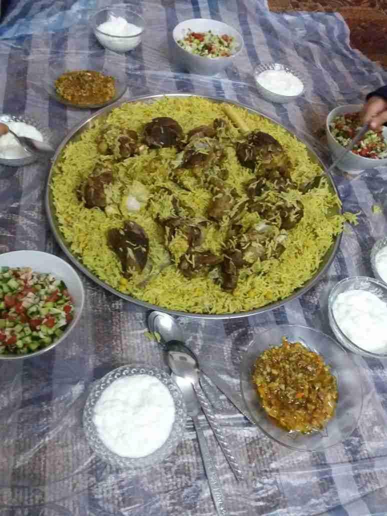 قدرة خليلية باللحمة زاكي Food Snapchat Cooking Palestinian Food