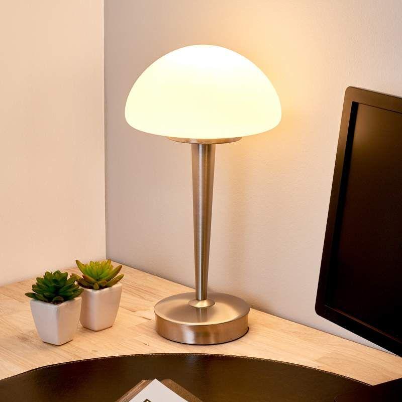 Mooi Gevormde Tafellamp Touch Tafellamp Moderne Tafellamp Interieur Slaapkamer