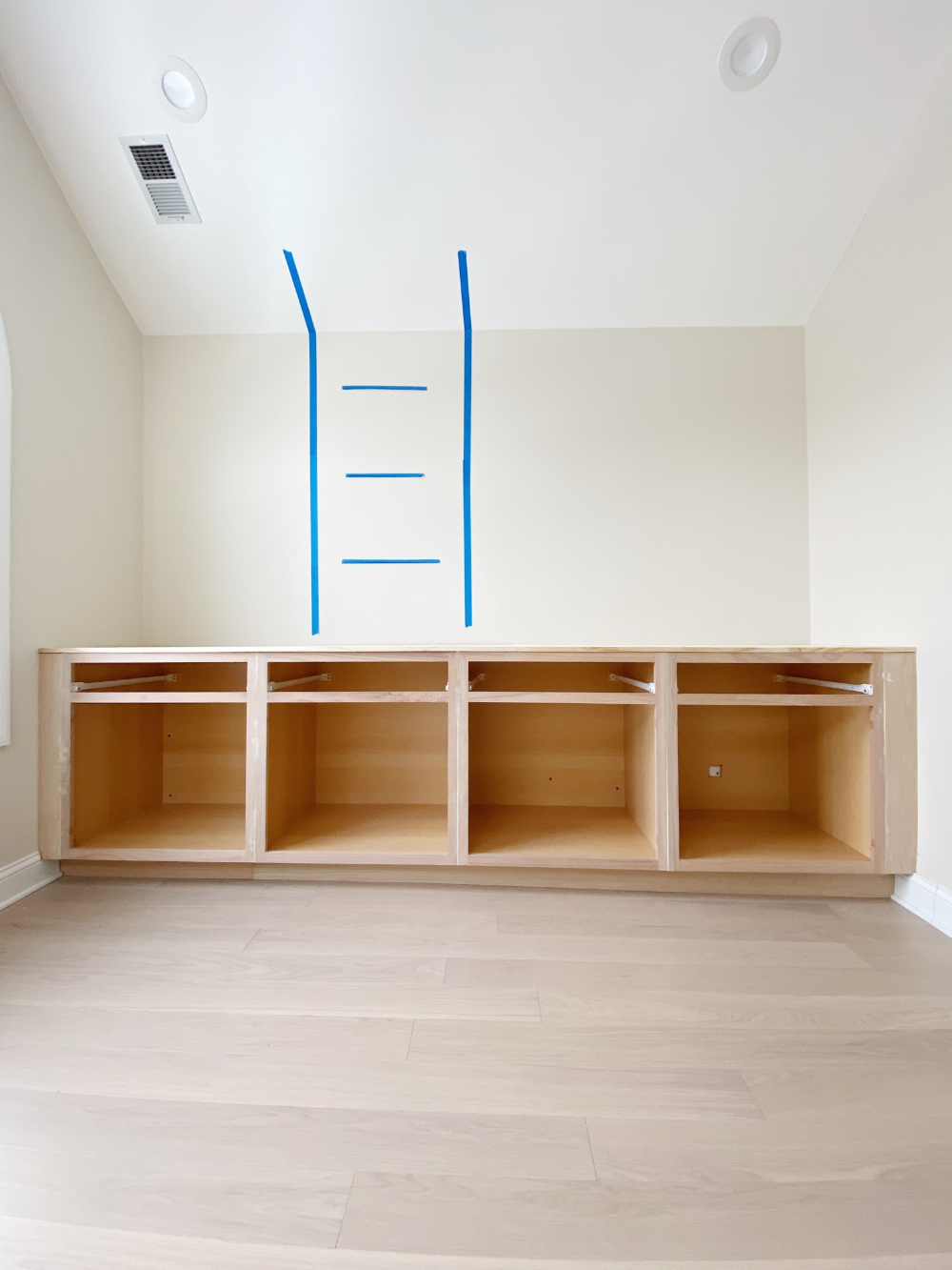 How to Install DIY Built-In Cabinets | The DIY Playbook in ...