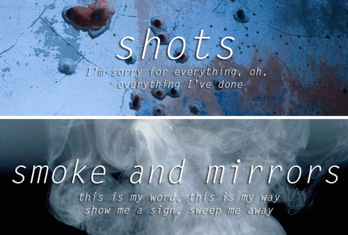 Imagine dragons smoke and mirrors quotes smoke and mirrors