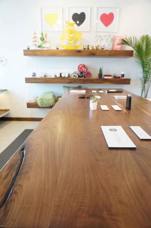 Center Table For Lon Little Shop | Boulder, CO #finart #finartco #retail