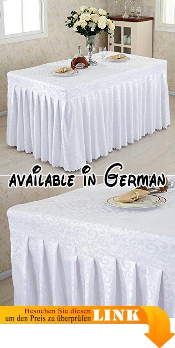 B077XS9YKF : Tischdecke Fitted Table Rock Cover Hochzeit Bankett mit ...