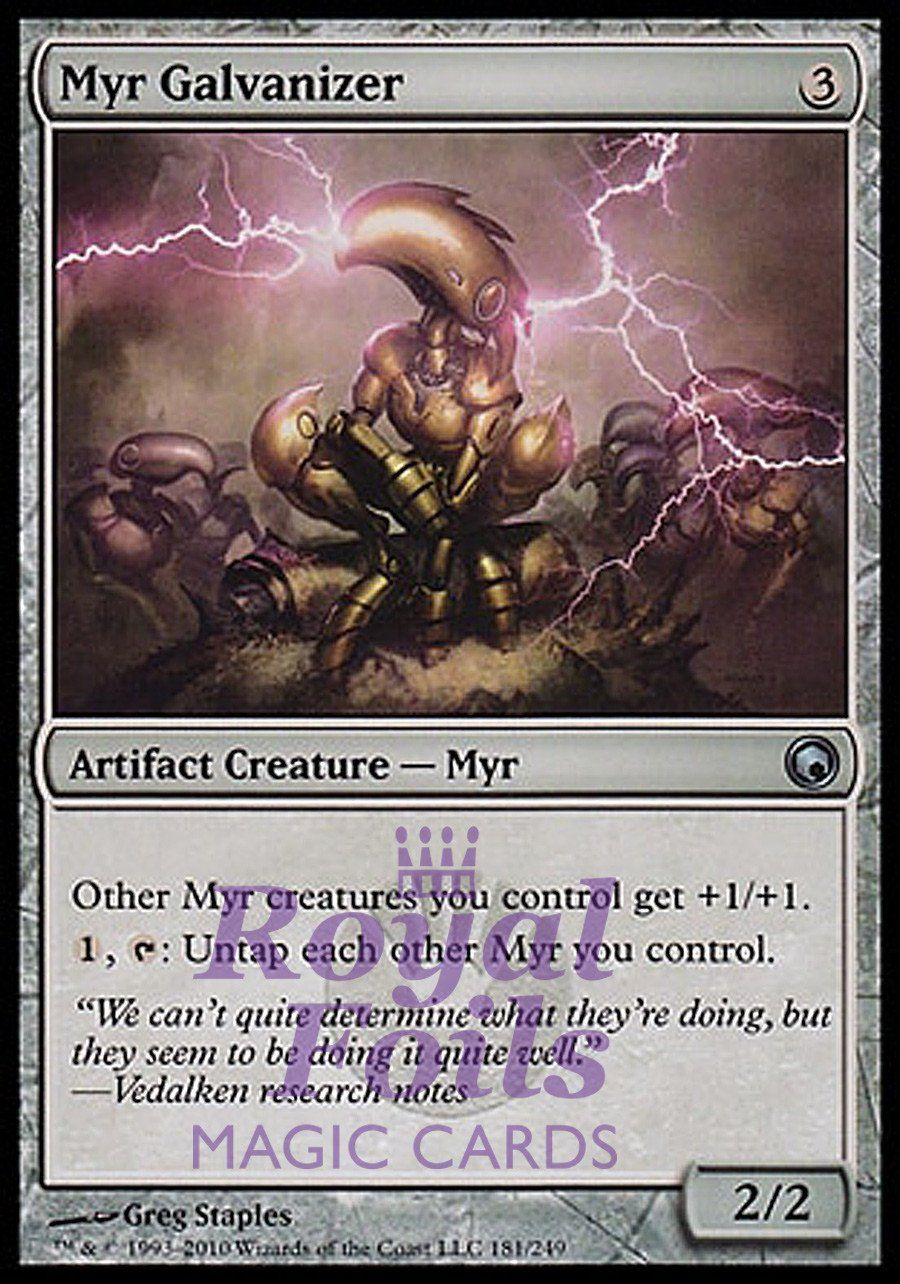 1x Myr Superion New Phyrexia MtG Magic Artifact Rare 1 x1 Card Cards