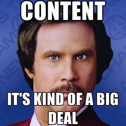 We Know How Much Of A Headache Creating Content Can Be Whether You Need A Blog Post Social Media Website Co Marketing Meme Marketing Humor Content Marketing