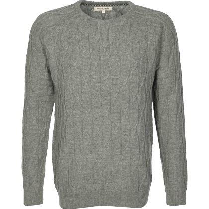 Klassischer grauer Strickpullover von Anerkjendt. Der Pullover ist super für einen lässigen Alltagslook. ♥ ab 69,90 €