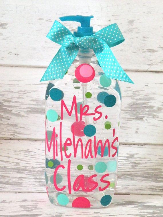 Hand Sanitizer Teacher Gifts Teacher Gifts Christmas Ideas Diy