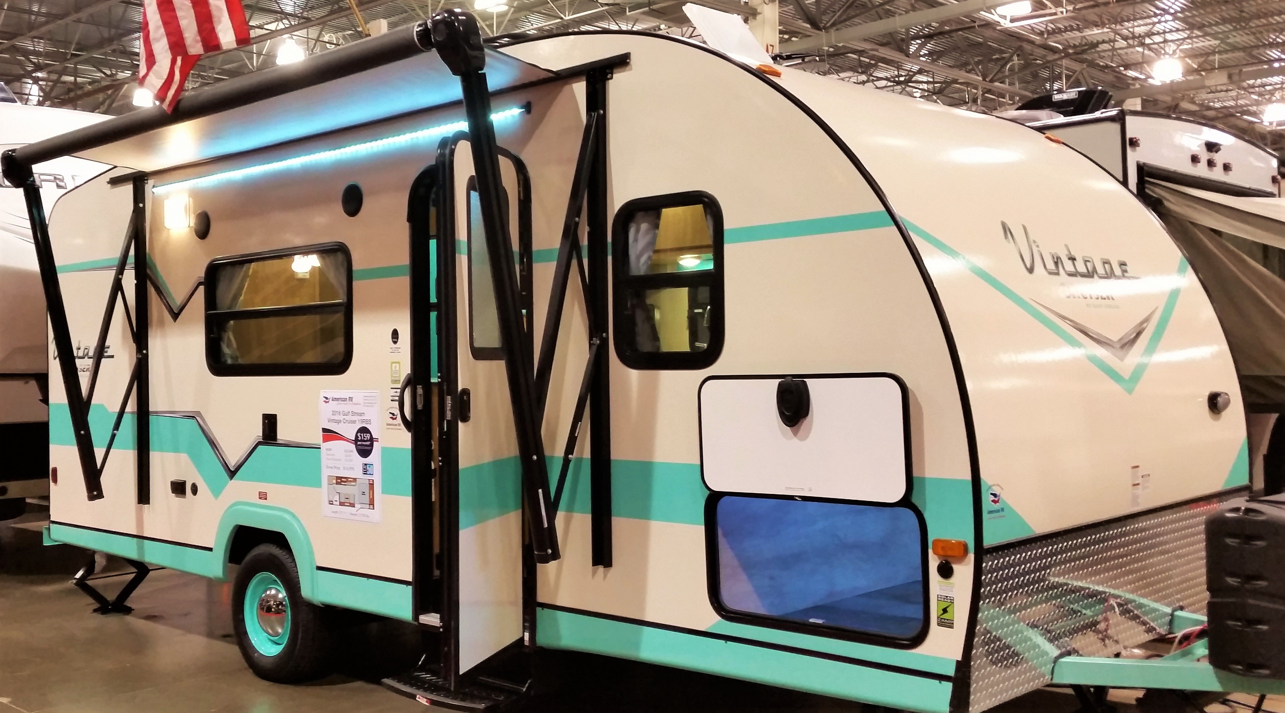 See This Adorable 2016 Gulf Stream Vintage Cruiser At The 2015