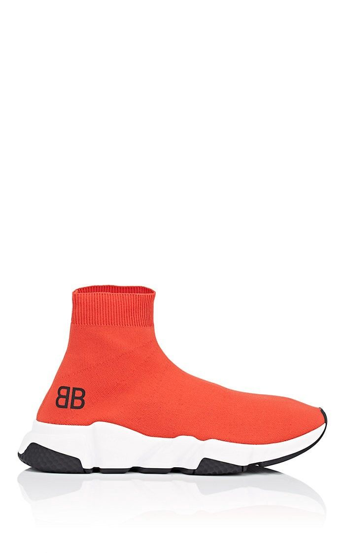 91fa360cfbf Balenciaga Men s Speed Knit Sneakers - 12 M Red
