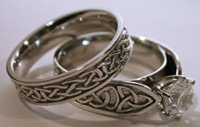 Celtic Wedding Rings Best Photos Wedding Rings