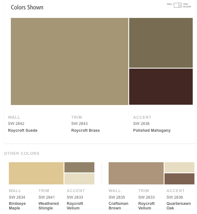 Sherwin Williams Craftsman Exterior Color Schemes