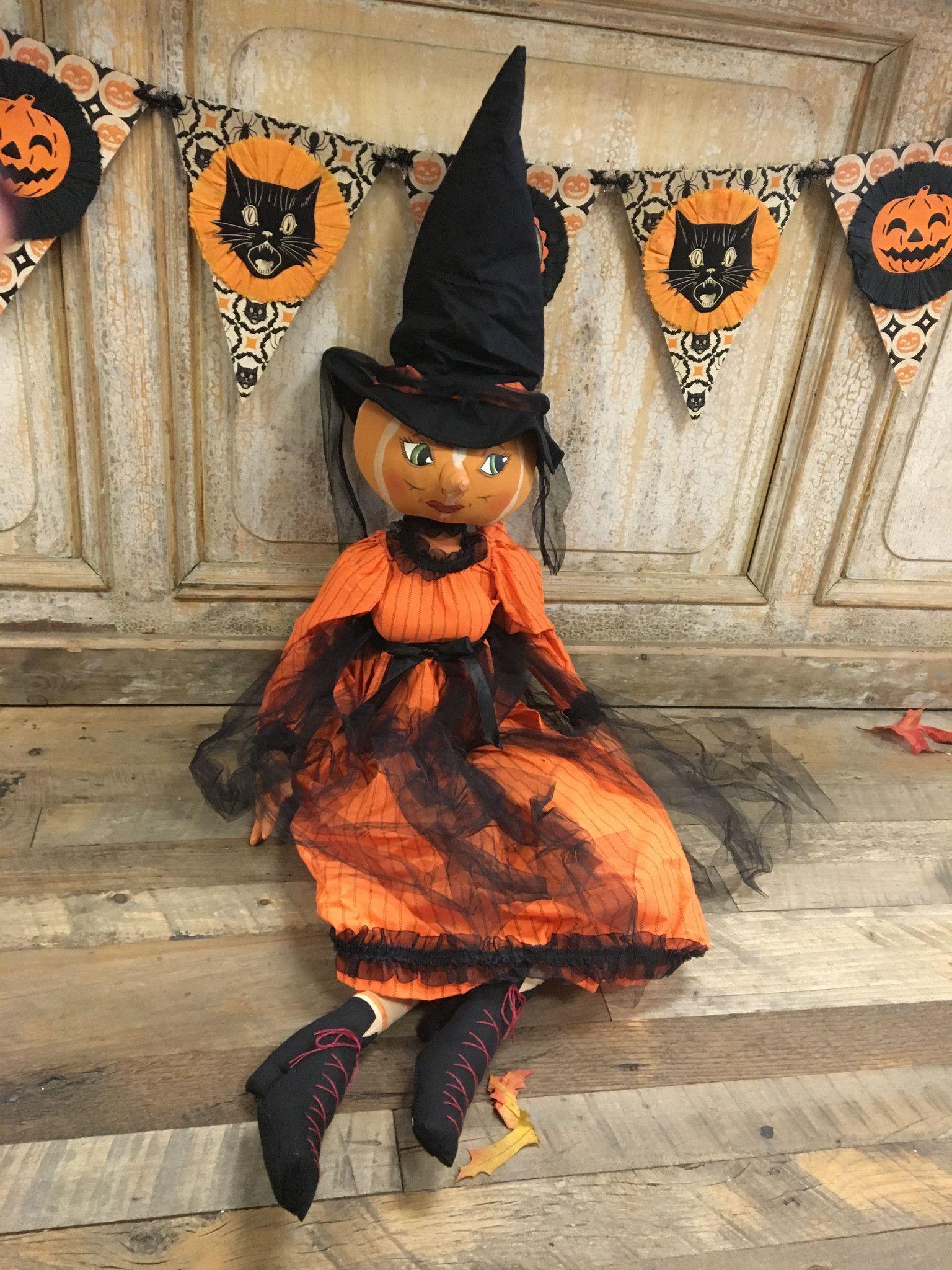 """""""isadora"""" Pumpkin Witch"""
