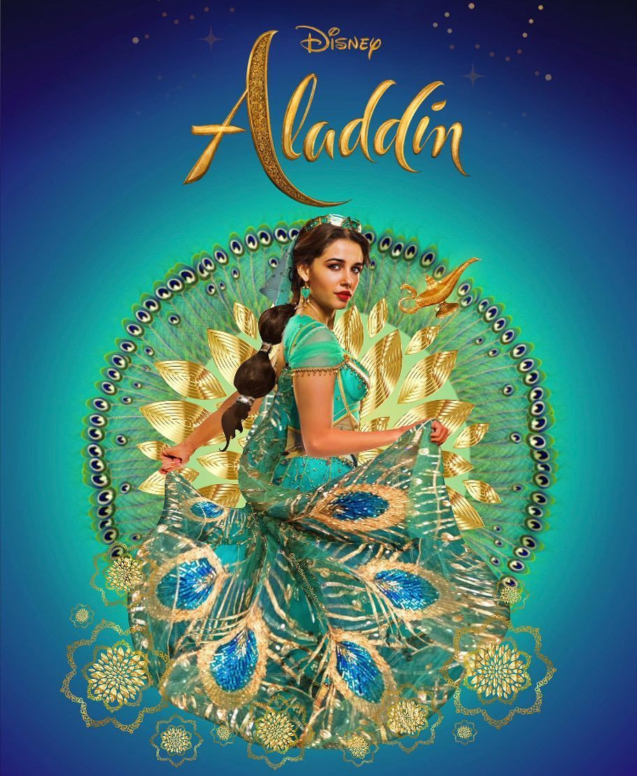 Aladdin 2019 on instagram beautiful art made by gutodisneycollector wow - Aladdin 2019 poster ...