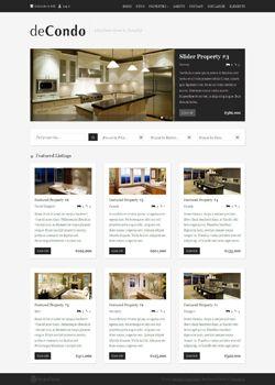 DeCondo Real Estate Wordpress Theme Real Estate Agent Wordpress - Real estate template wordpress