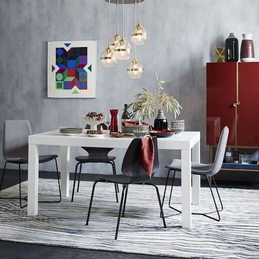 Parsons Dining Table Rectangle West Elm Mackenzie S