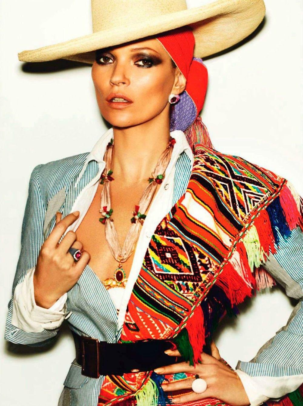 Kate Moss by Mario Testino for Vogue Paris April