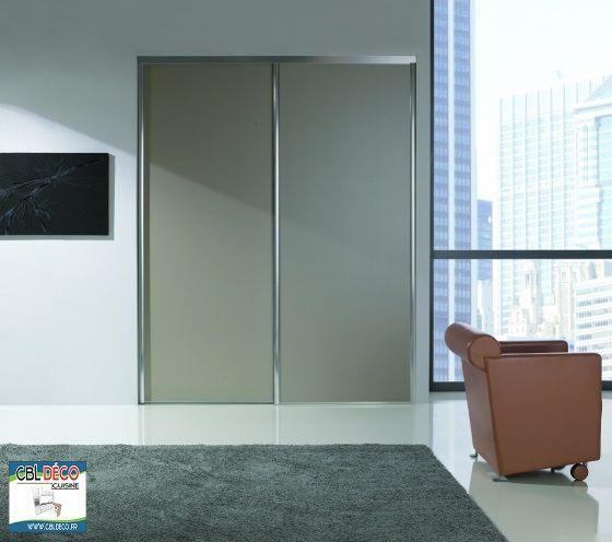 Portes coulissante / dressing CBLdéco chambre Pinterest - porte garde robe coulissante mesure