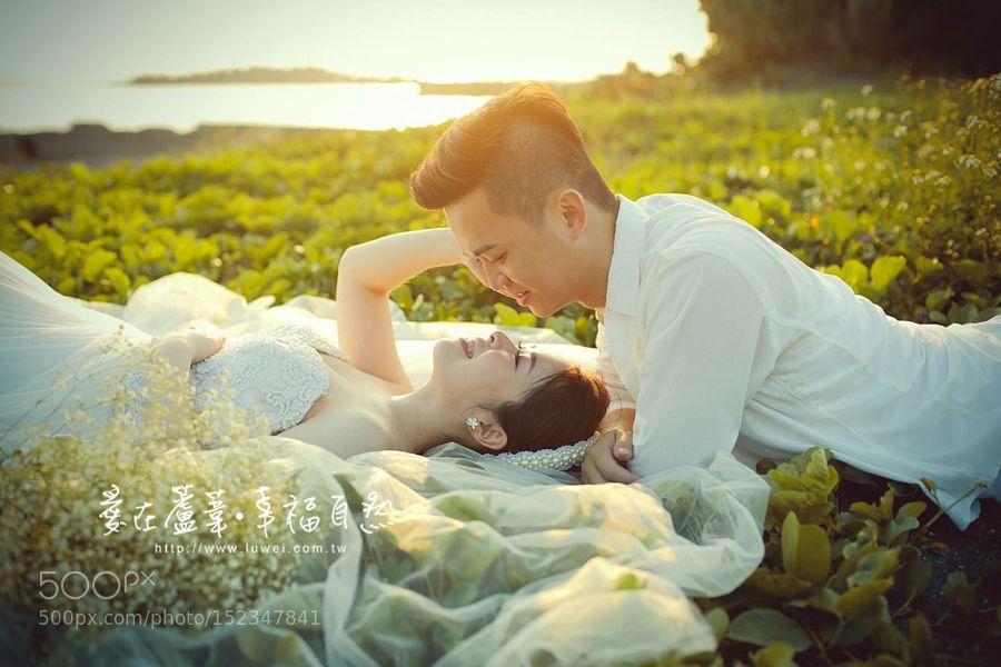 蘆葦婚紗:一顆堅定無比的心 比任何情話都好聽 by luweiwedding