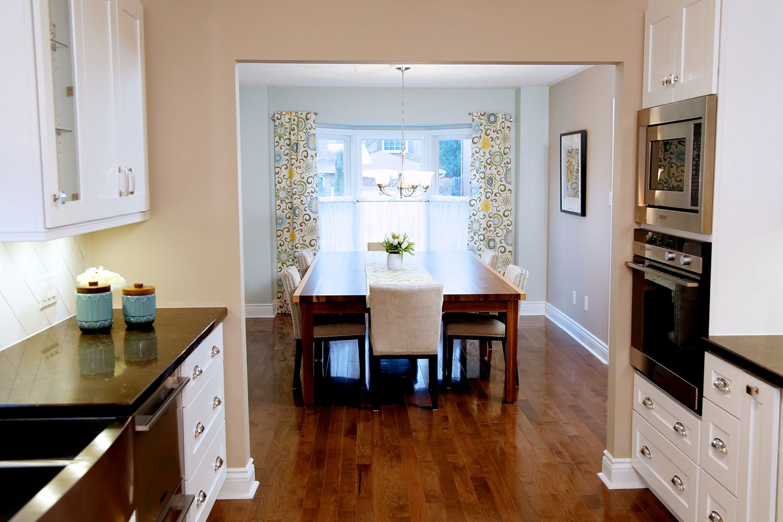 Design | Galley style kitchen, Home renovation, Kitchen dining