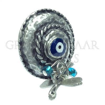 4577a8b31 Evil Eye Fashion Bijou Rings Designer Turkish Jewelry Handmade by Jewelers  & Artisans of the Grand Bazaar in Istanbul Turkey GBJ1455 Ethnic Jewelry  Online ...
