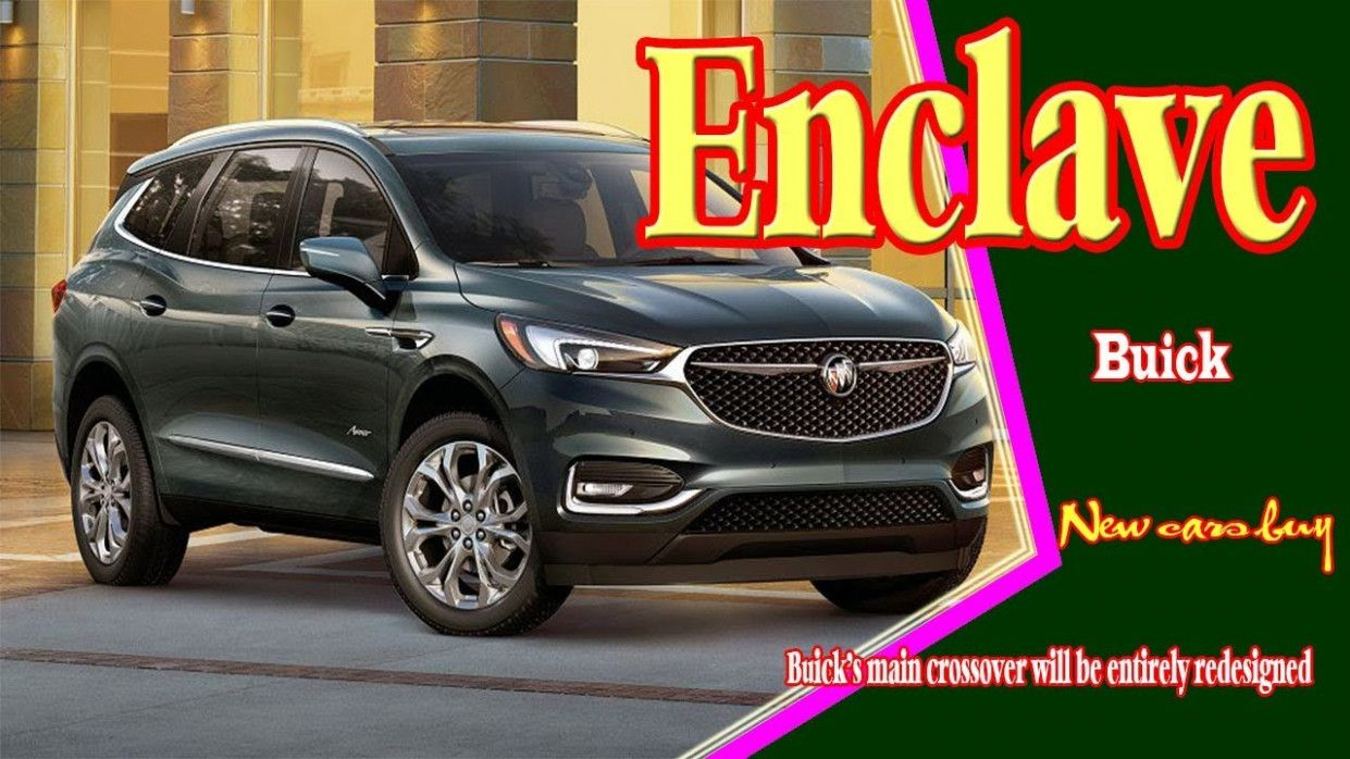 2020 Buick Enclave Release Date Research New Di 2020