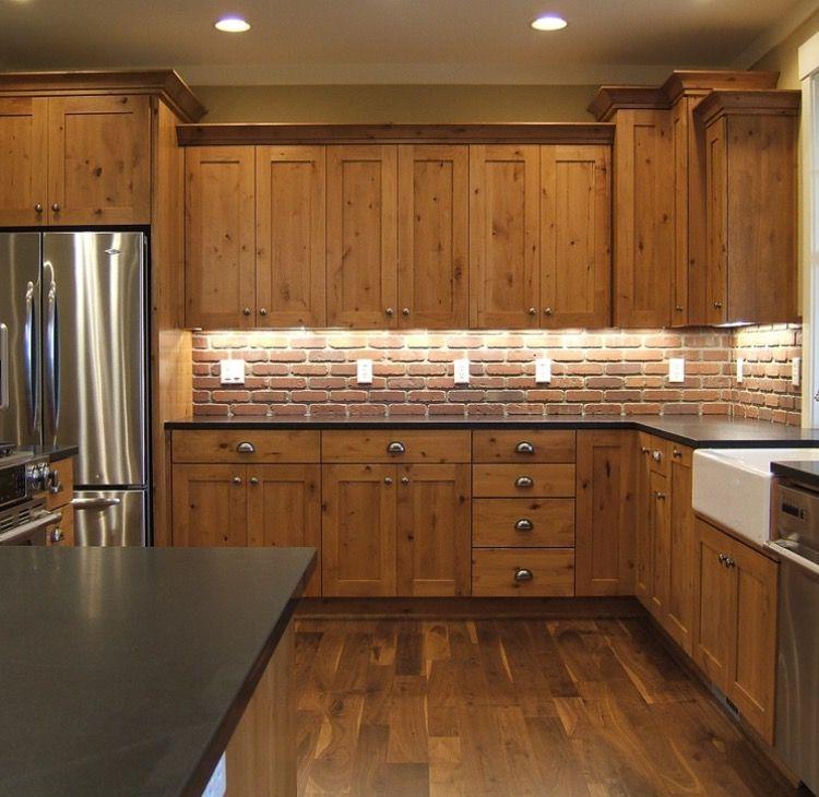 Kitchen Trends Knotty Alder Kitchen Cabinets: Pine Kitchen Cabinets