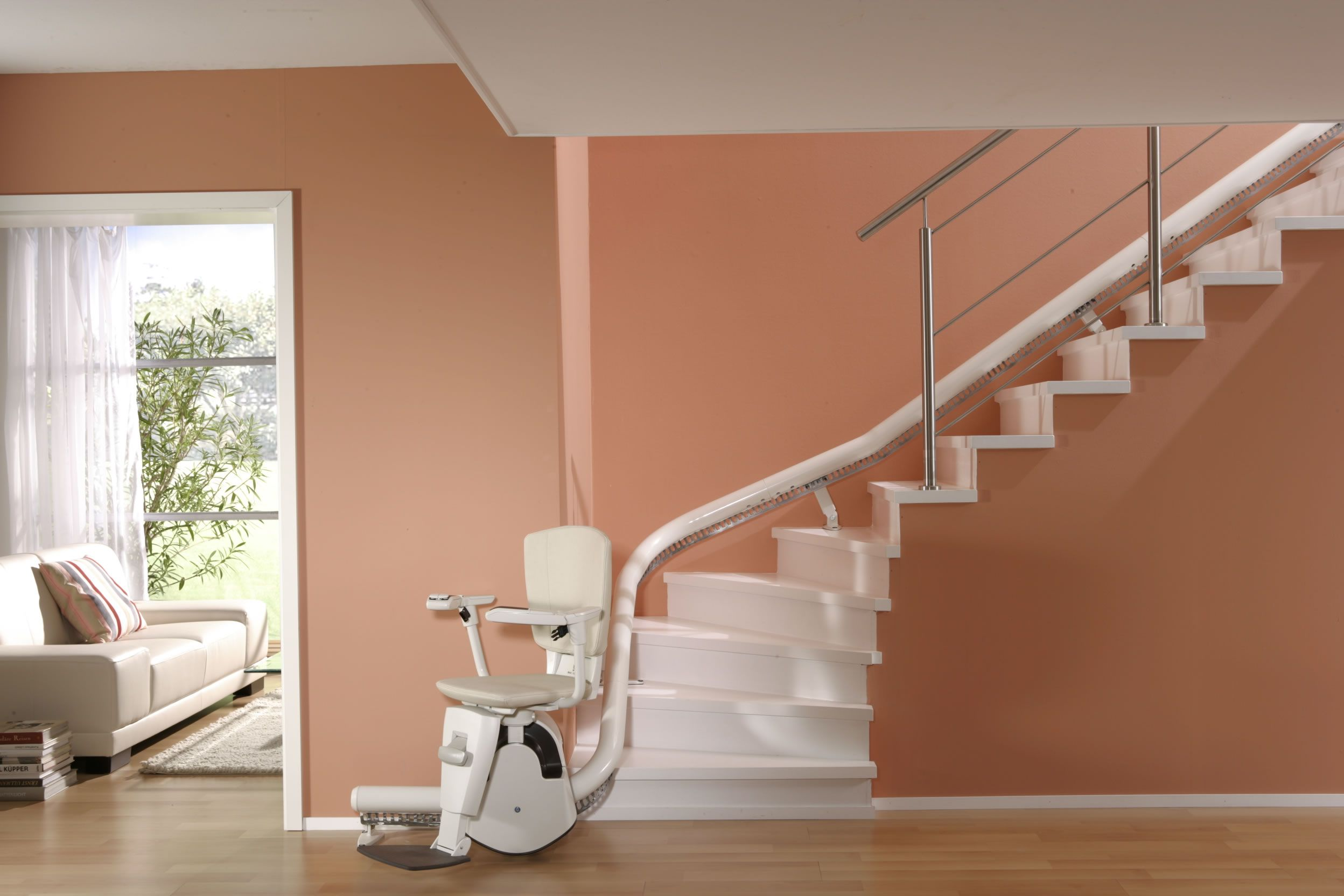 What Not To Expect From A Stairlift Installation Round Back Dining Chairs Home Stairs Design