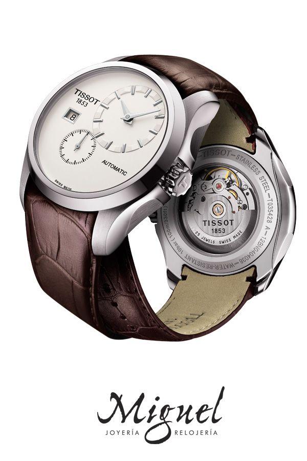 6e01f1bac871 Catálogo de relojes Tissot para hombre y mujer  Reloj Tissot Couturier para  hombre automático T035.428.16.031.00