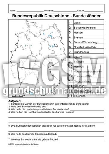 Angrenzende länder deutschland arbeitsblatt