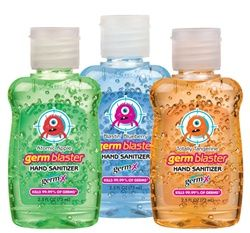Germ X Germ Blaster Hand Sanitizer 2 5 Oz Assorted Hand