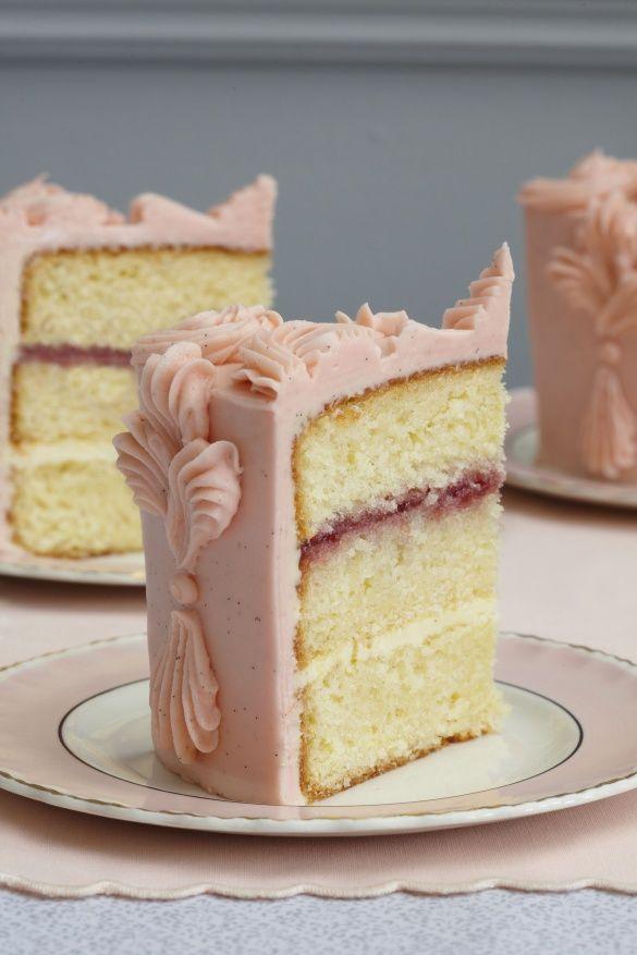 Victorian Sponge Cake With Raspberry Jam | Bashful Blush ...