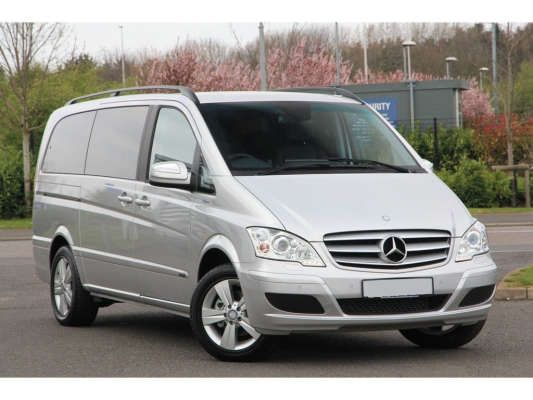 Used Mercedes Viano London >> Used 2015 (15 reg) Brilliant Silver Metallic Mercedes-Benz ...