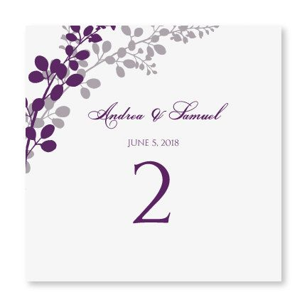 INSTANT DOWNLOAD Wedding Table Number Card By DiyWeddingTemplates - Wedding table numbers template