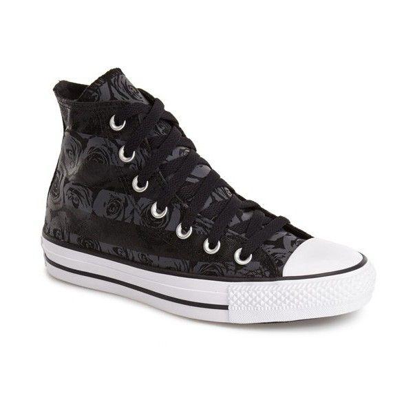 Converse Chuck Taylor All Star Rose Print High Top Sneaker ...