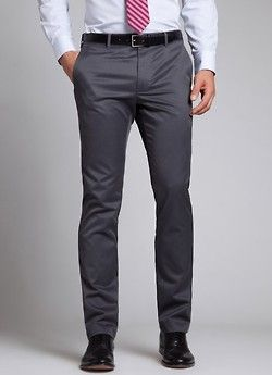Dark Gray Quarter Break Gio S Fashion Mens Fashion Grey Slacks