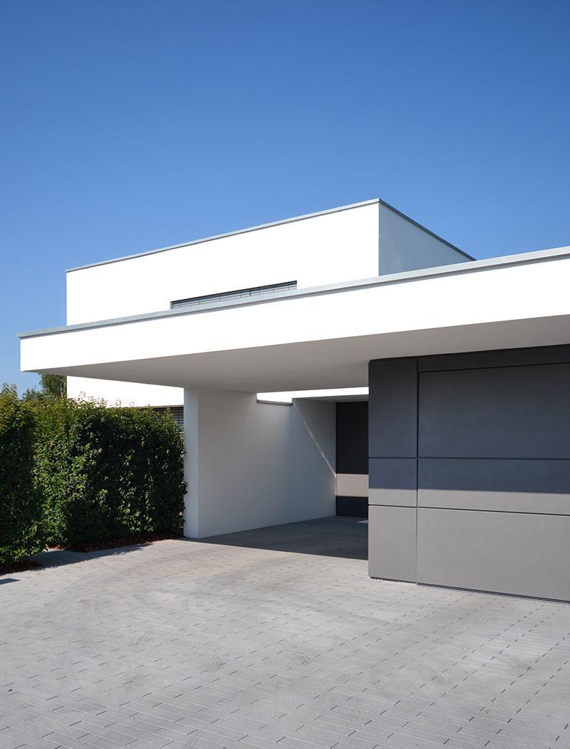 B nck architektur langenfeld 2016 house for Fachadas minimalistas 2016