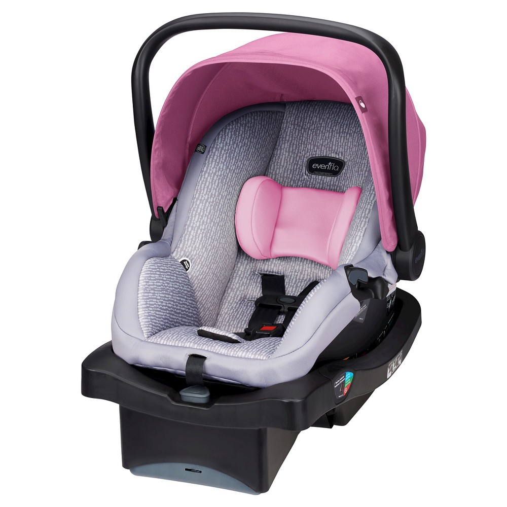 Evenflo LiteMax Infant Car Seat Azalea in 2020 Baby