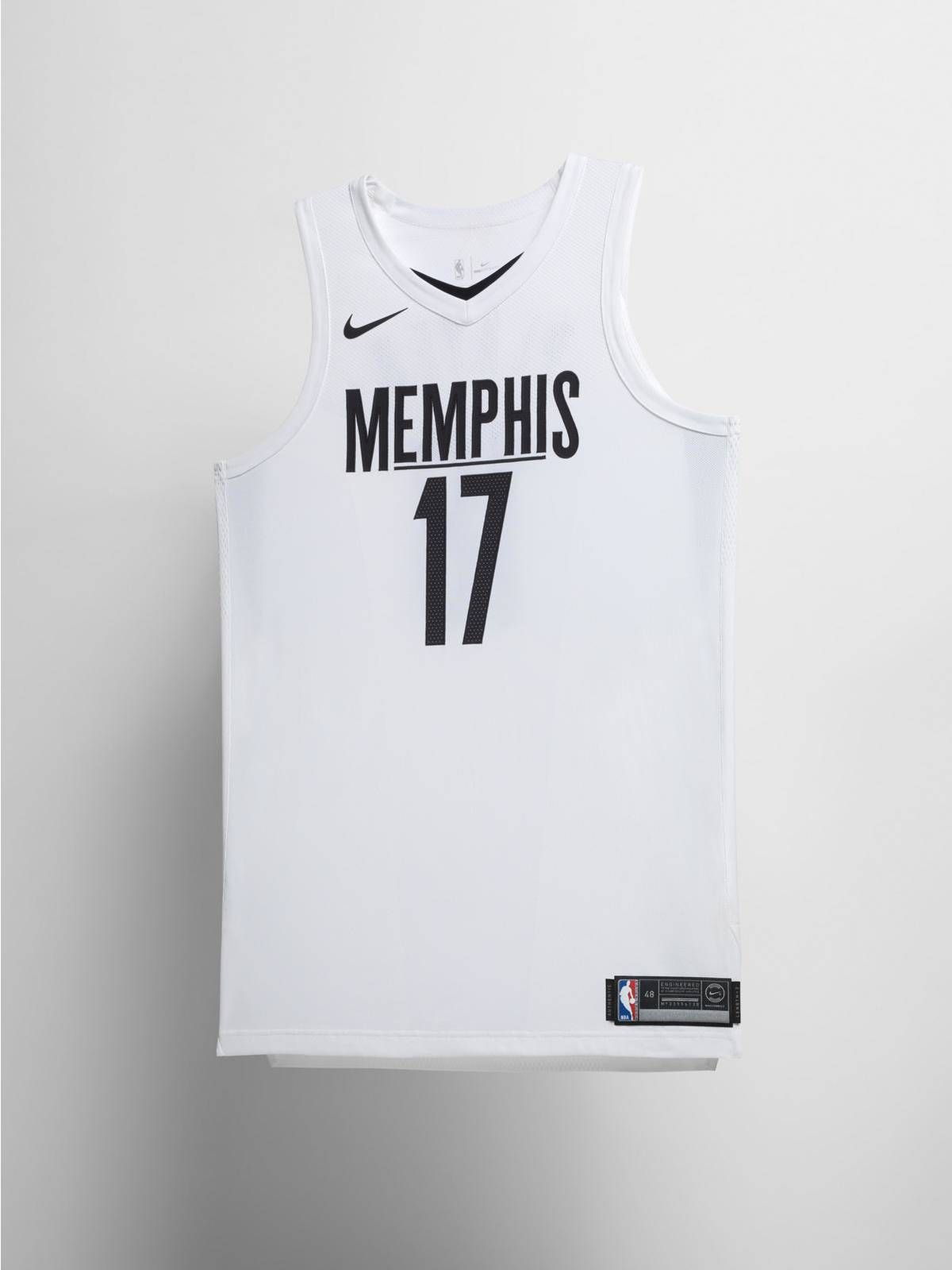 Nike Memphis Grizzlies NBA City Edition jersey 90d16827c