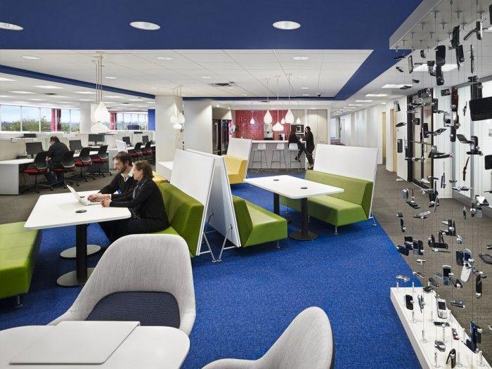 Verizon S New Jersey Offices Office Snapshots Office Design Office Interiors Cool Office
