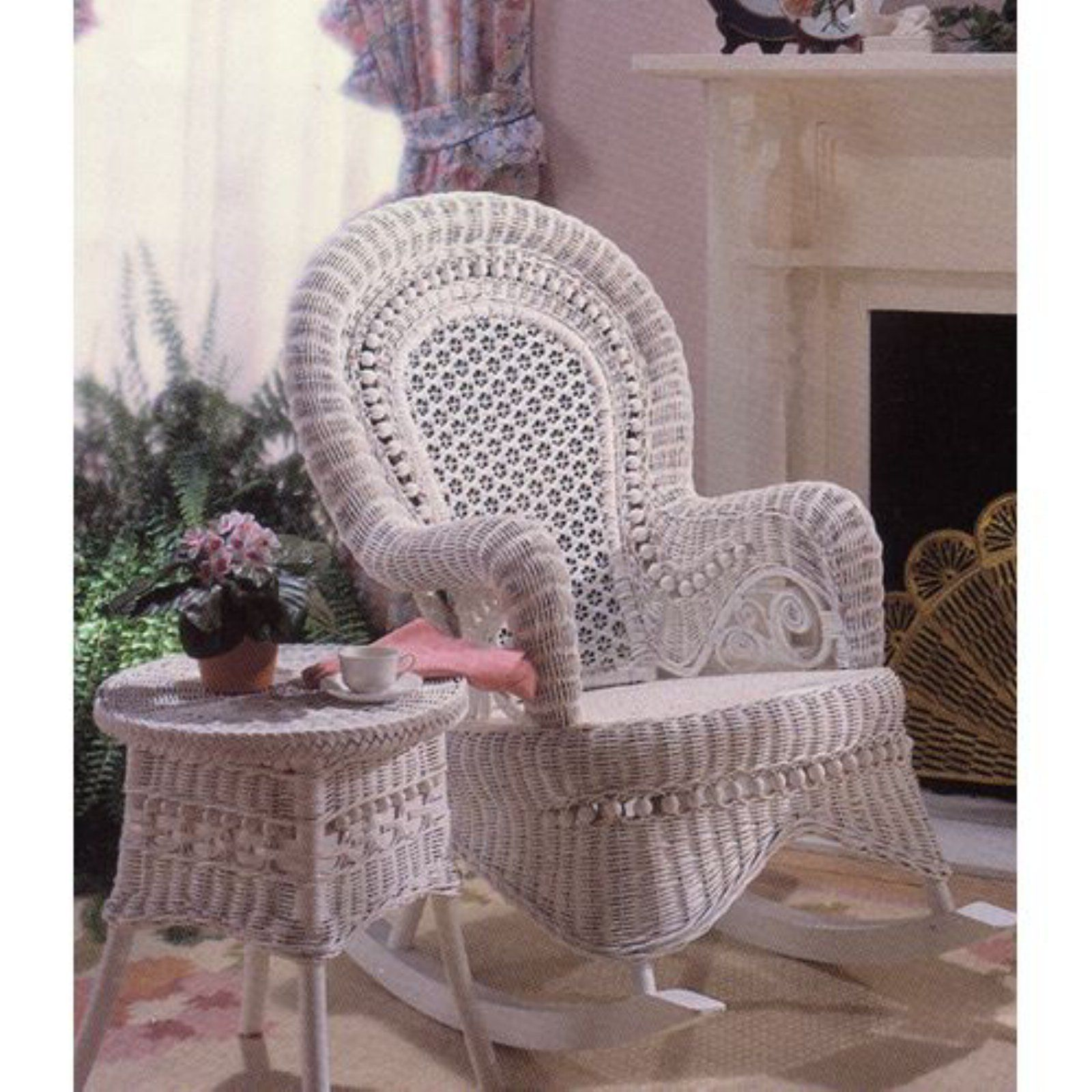 Wicker Chairs Indoor Outdoor Country Wicker Rocking Chair Indoor Covered Porch In