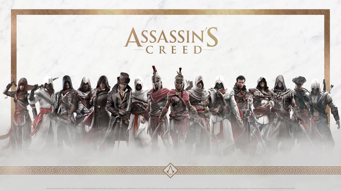 Assassin S Creed Hd Wallpaper 7 By Tead By Santap555 Assassins