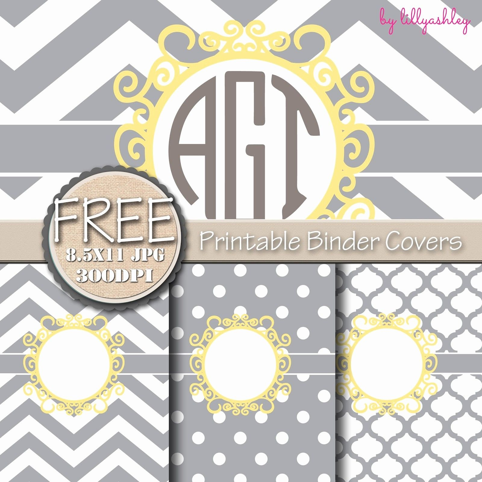 011 Free Binder Cover Templates Printable Editable Covers