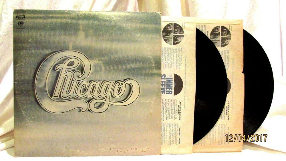 1970 Chicago Ii Columbia Lp 33 Vinyl Record Kgp 24 Classic Rock Softrock Vinyl Records Chicago Ii Vinyl