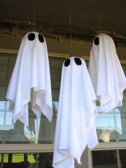 24+ Diy halloween hanging ghosts ideas in 2021
