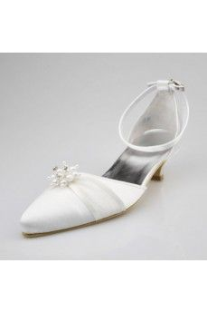 Closed Toe Satin Low Heel Pumps. Grab special discounts up to 70% Off at Abbydress with Discount & Voucher Codes.