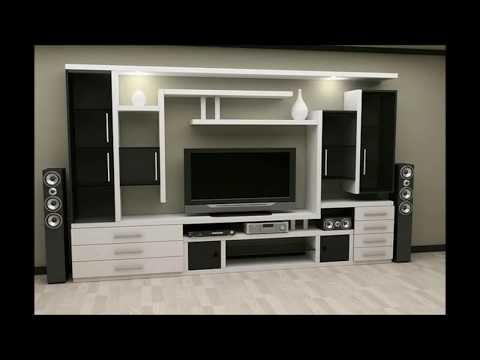 Modern Living area LED TV Wall unit design ideas |
