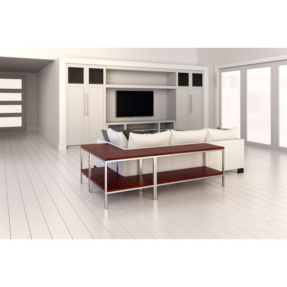 Perspective view of warmly console by 1x1 modern custom furniture