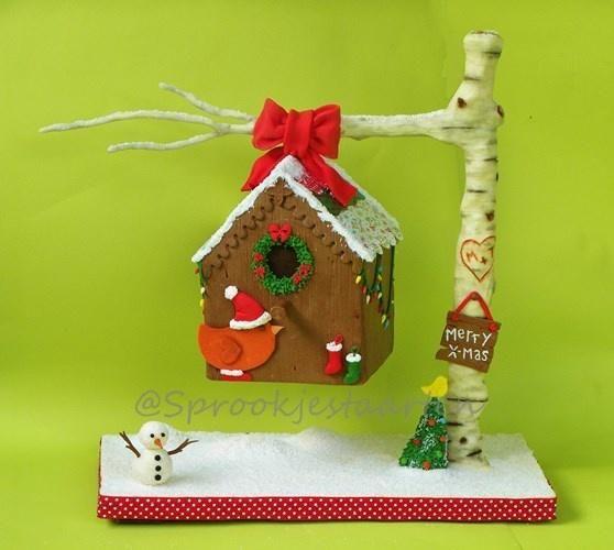 We 'tweet' you a merry X-mas! - Cake by Tamara Eichhorn